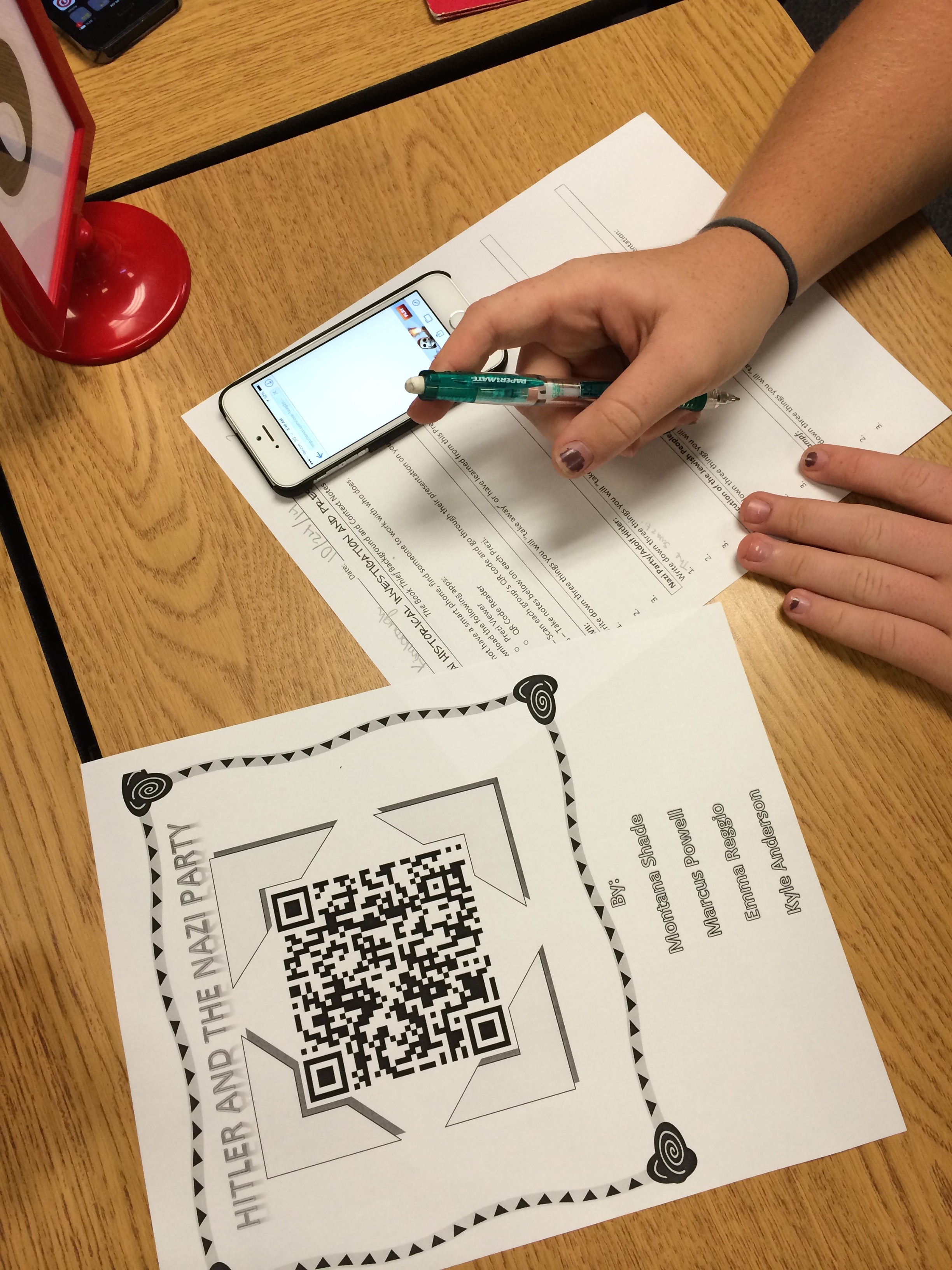 qr code research paper