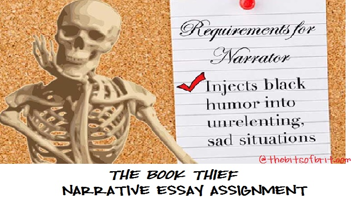 the book thief narrative the bits of brit narrative essay alas spring break is over and we are back to it this quarter my honors sophomore students are reading markus zusak s the book thief