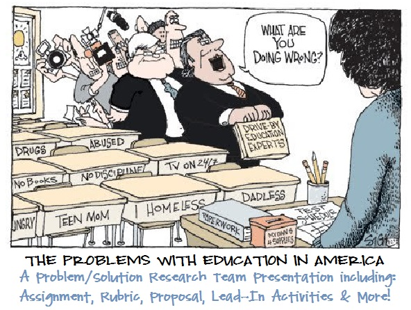 education problems The system of public schooling is different from that of private school, particularly  in terms of funding and administration some educational.